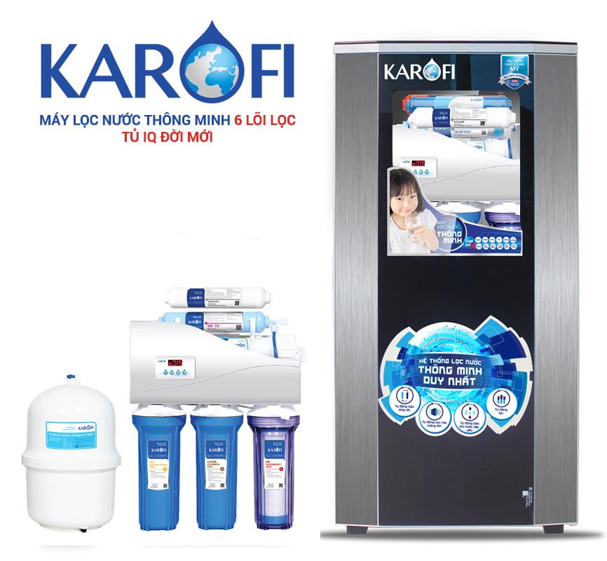 Máy lọc nước Karofi Thông minh 6 lõi K6I-1